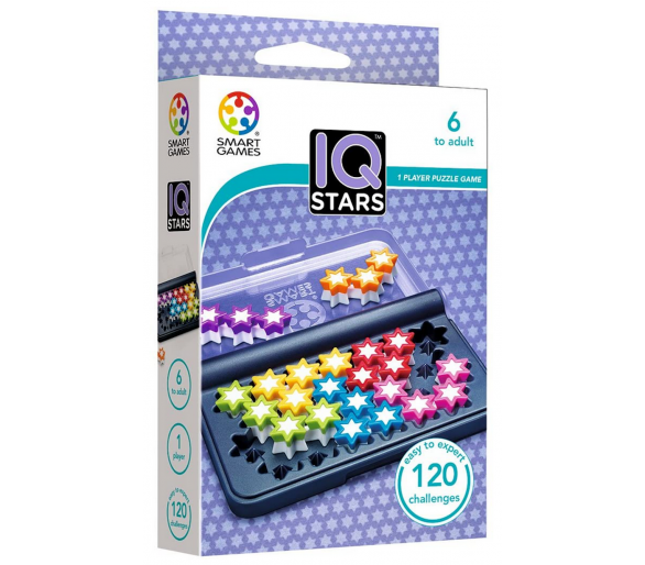 Juego Lógica IQ STARS STEAM ideal para llevar de viaje