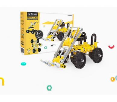 Juguetes Educativos STEAM Kit de Construcción Vehículo The Offbits
