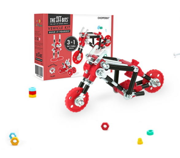 Kit de Construcción Moto The Offbits Juguetes Educativos STEAM