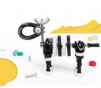 Kit de Construcción Cebra (3 en 1) +6
