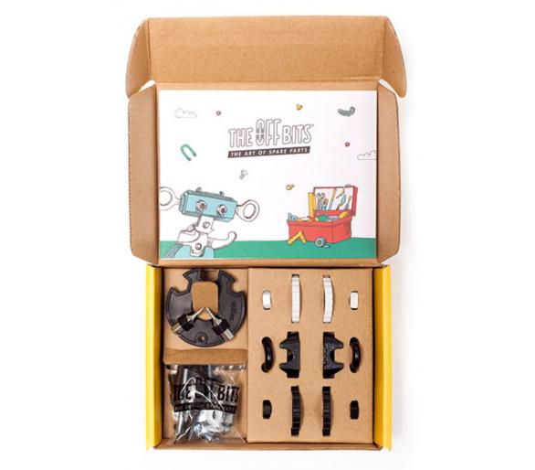 Kit de Construcción Cebra The Offbits Juguetes STEAM para aprender tecnología