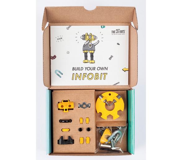 The Offbits Kit de Construcción Robots como alternativa a los móviles