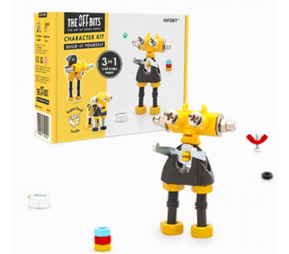 Kit de Construcción Robots (3 en 1) +6