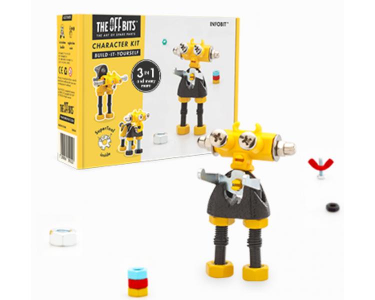 Kit de Construcción Robots (3 en 1) The Offbits