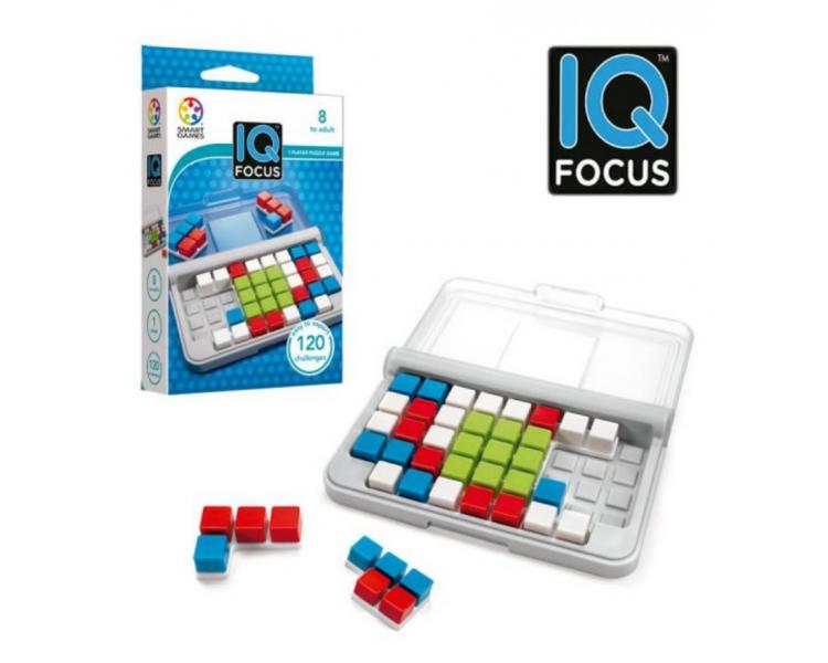 Juego Lógica IQ FOCUS STEAM +6