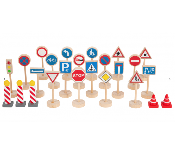 Set de Señales de Tráfico para el juego simbólico