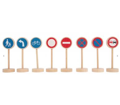 Set de Señales de Tráfico para dar rienda suelta a la imaginación
