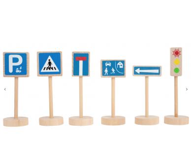 Juguetes para el juego simbólico Set de Señales de Tráfico