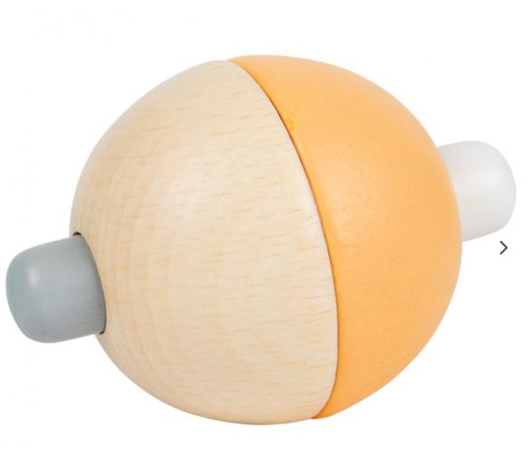 Bola Motricidad Sonido Pastel Naranja para los bebés