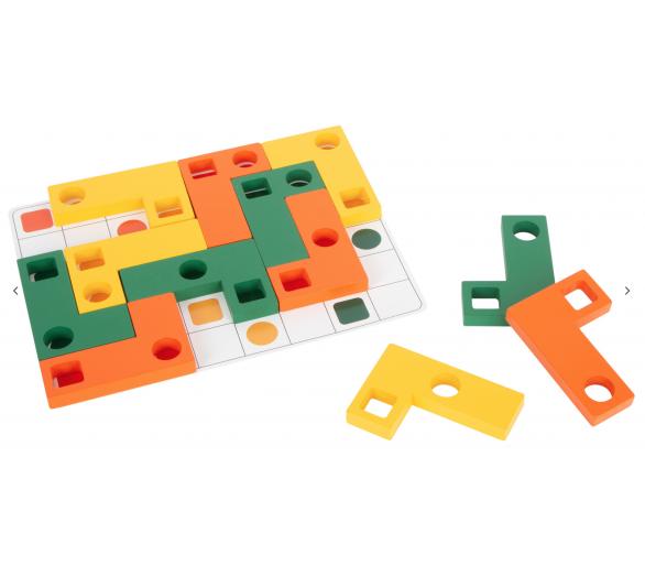 Juego Educativo de Tetris Madera para jugar sin pantallas