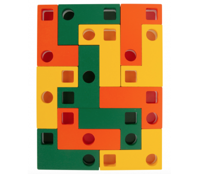 Juguete Educativo de Tetris Madera para la habilidad mental de los peques