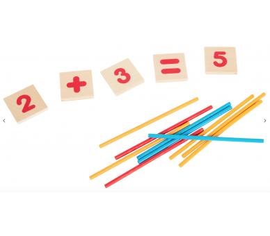 Juguete Educativo Matemáticas de Madera para aprender de una forma divertida