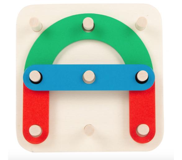 Juguete Educativo Puzzle de Letras y Números