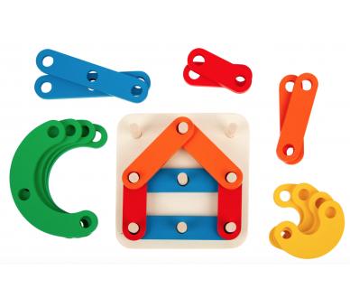 Puzzle de Letras y Números en Cajita Juguete Educativo