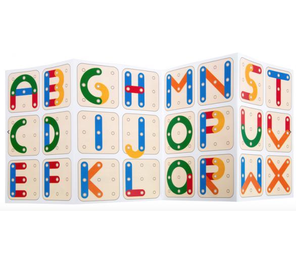 Juguete Educativo Puzzle de Letras y Números para jugar sin pantallas