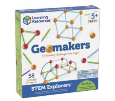 Formas Geométricas Geomakers Juguete Educativo para jugar sin pantallas