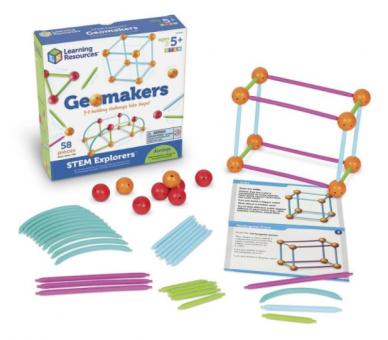 Geomakers Actividades Formas Geométricas para aprender jugando