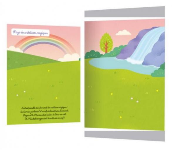 Libro Pegatinas Reutilizables Mágicos para ofrecer a cambio de pantallas