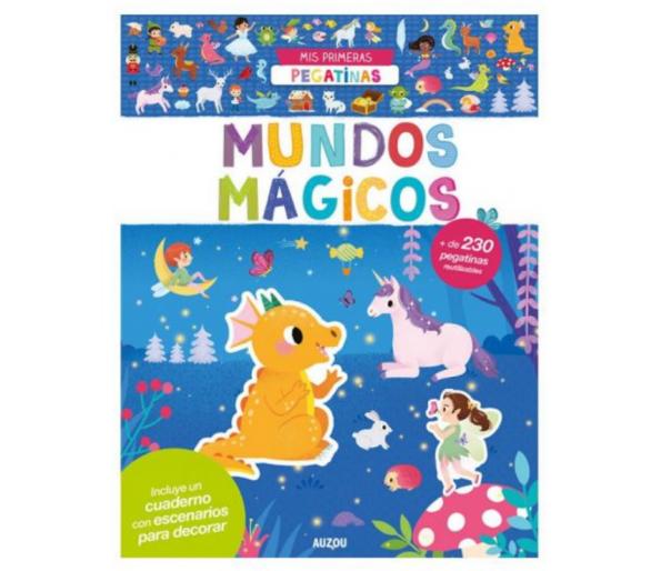 Libro Pegatinas Reutilizables Mágicos +3