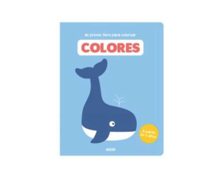 Primer Libro de Colorear +2