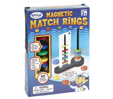 Magnetic Match Rings STEAM Popular Playthings