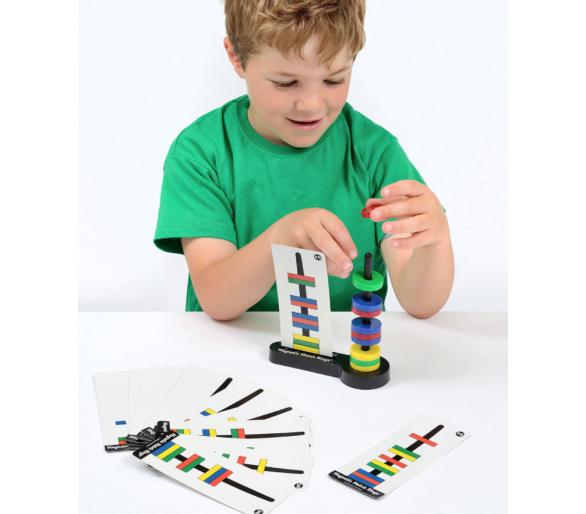 Juegos de Lógica STEAM Magnéticos para aprender jugando