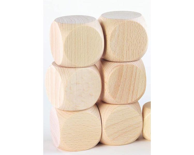 Cubo de madera Juego Heurístico para Cesta de los Tesoros