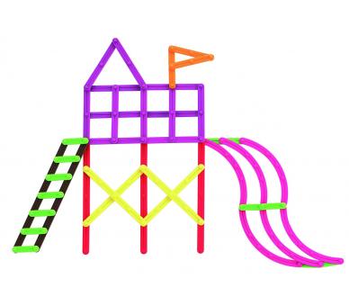 Juguete Educativo GeoStix para hacer construcciones