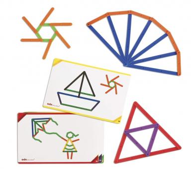 Juguete Educativo GeoStix para jugar con las tarjetas o libremente