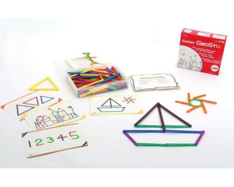 Set de Construcción Formas GeoStix Juguete Educativo
