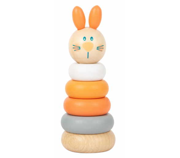 Torre Apilable Tonos Pastel Conejito +1