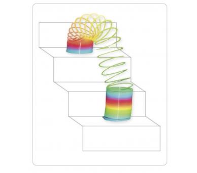 Juguetes de toda la vida como el espiral arco iris