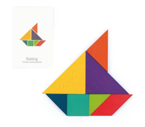 Tangram de los mejores Juguetes Educativos para Aprender Matemáticas