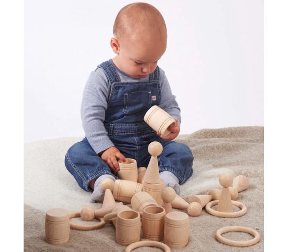 Bolsa de los Tesoros Montessori para el Juego Heurístico