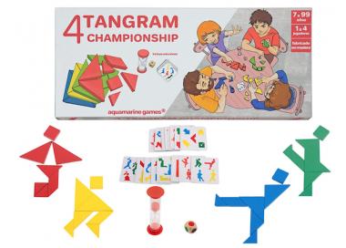 Juego con 4 Tangram Championship +7