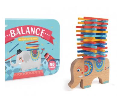 Juego de Equilibrio Elefante +3