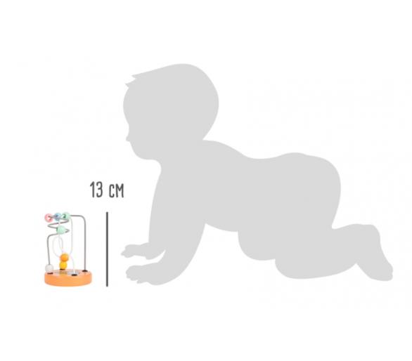 Circuito Tonos Pastel Mapache ideal primer regalo bebés