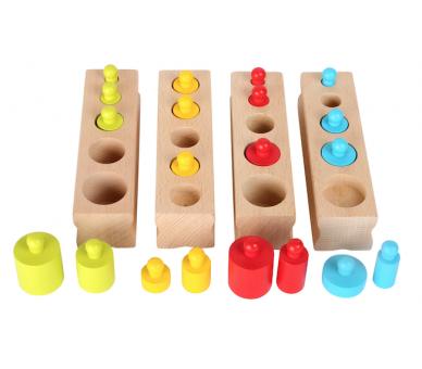 Encajar Pesos Vida Práctica Montessori +3