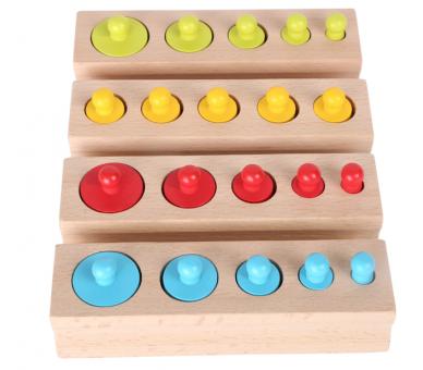Juguete Educativo para Encajar Pesos Vida Práctica Montessori