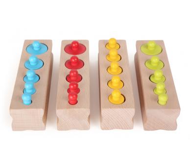 Juguete Educativo Encajar Pesos Vida Práctica Montessori  para llevar en YupiBag
