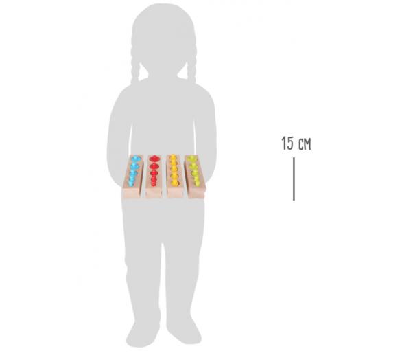 Encajar Pesos Vida Práctica Montessori Juguete Educativo