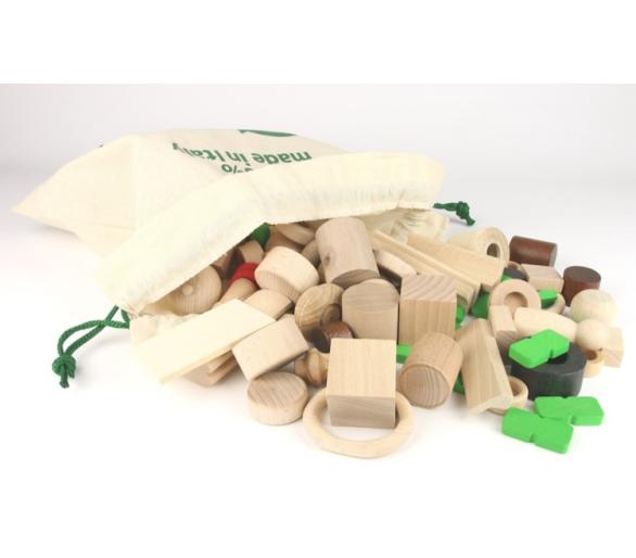 20 Piezas de Madera reutilizables para jugar