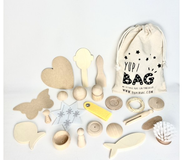 YupiBag Saco de los Tesoros Montessori para bebés