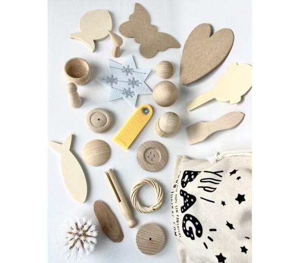 YupiBag Saco de los Tesoros Montessori para bebés ideal para regalar