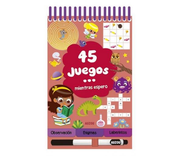 45 Juegos Mientras Espero Auzou +6