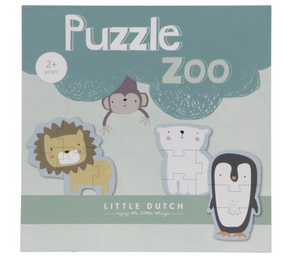 Puzzle Zoo Little Dutch +2