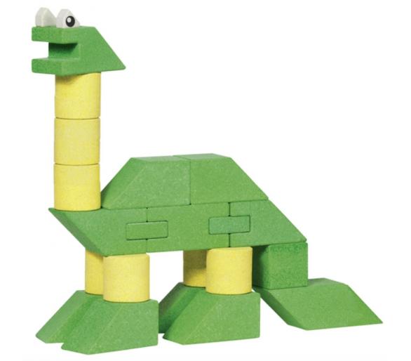 Dinosaurios Construcciones de Piedra +3