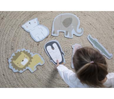 Puzzle Zoo Little Dutch para aprender jugando