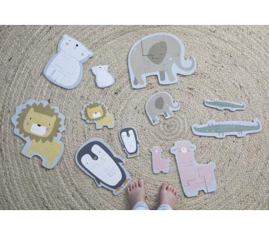 Juguete Educativo Puzzle Zoo Little Dutch