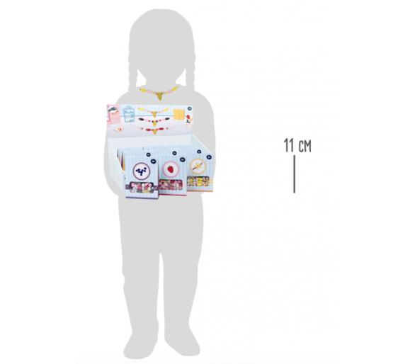 Perlas de Madera Hacer Collares Rosas Manualidades dar rienda suelta a la imaginación